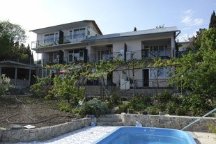 Private house complex in Simeiz