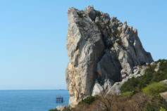 Simeiz. The Rock Swan Wing
