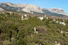 Simeiz. View of the Ai-Petri